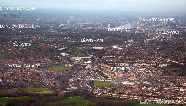 伦敦东南部 后来居上的居住热点