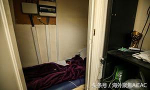 棺材房并非香港独有 在伦敦东部有人被发现长期租住在橱柜中