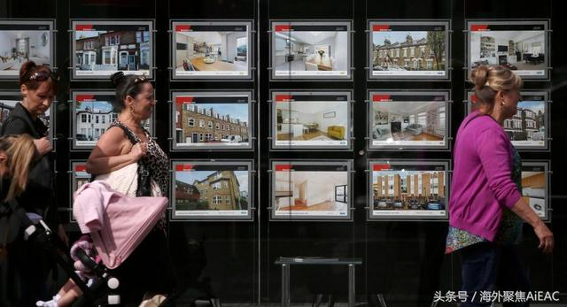 伦敦房价在过去一年下跌了15% 那些富裕地区的房价损失了10万英镑