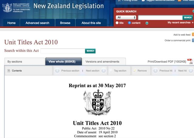 新西兰物业房产法将迎来重大改革 公寓管理制度将重塑