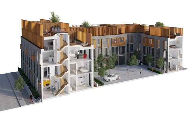 德特拉福德开始了曼切斯特圣乔治花园二期的开工建设