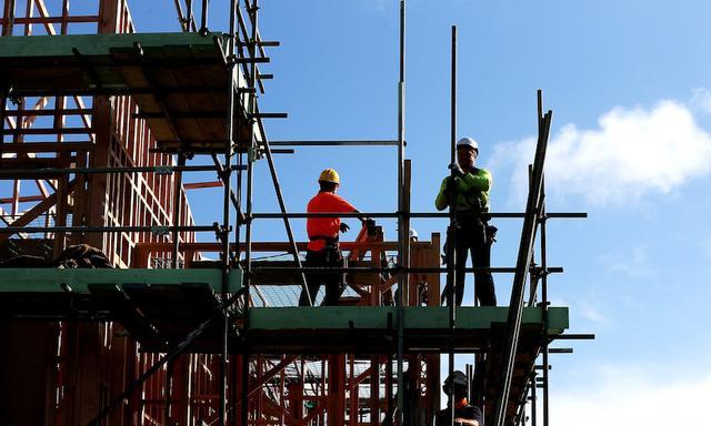 新西兰大部分地区的新住宅许可数量有所下降 但惠灵顿仍大幅上升